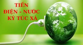 Tiền Điện - Nước Ký túc xá CTIM khu C-K tháng 06/2020